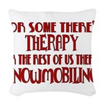 therapy.png Woven Throw Pillow
