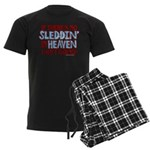 Sleddin' in Heaven Men's Dark Pajamas
