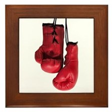...Boxing Gloves 3... Framed Tile