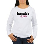 snowwidow332bm.png Women's Long Sleeve T-Shirt