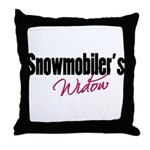 snowwidow332bm.png Throw Pillow