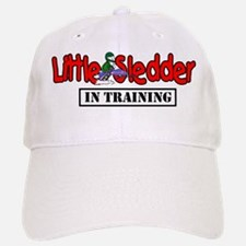 Little Sledder in Training Baseball Baseball Cap