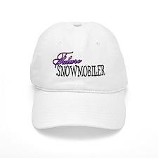 future snowmobiler.png Baseball Cap