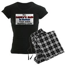 Daddy's Sled Pajamas