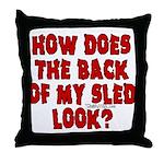 backblack.png Throw Pillow
