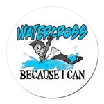 WATERCROSSS.png Round Car Magnet