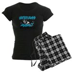 WATERCROSSS.png Women's Dark Pajamas