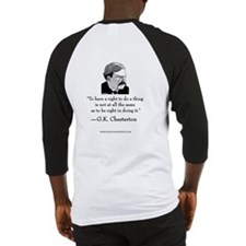 "G.K. Chesterton Jersey ""To Have a Right"""