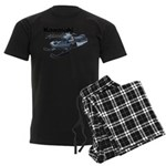 'Ceptor Muscle Men's Dark Pajamas