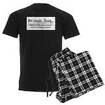 Not tonight, Honey Men's Dark Pajamas