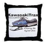 KawasakiTrax Throw Pillow