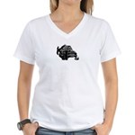 ktlogo.jpg Women's V-Neck T-Shirt