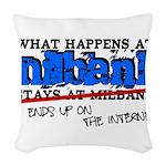 mbank.png Woven Throw Pillow