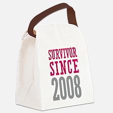 Survivor Since 2008 Canvas Lunch Bag