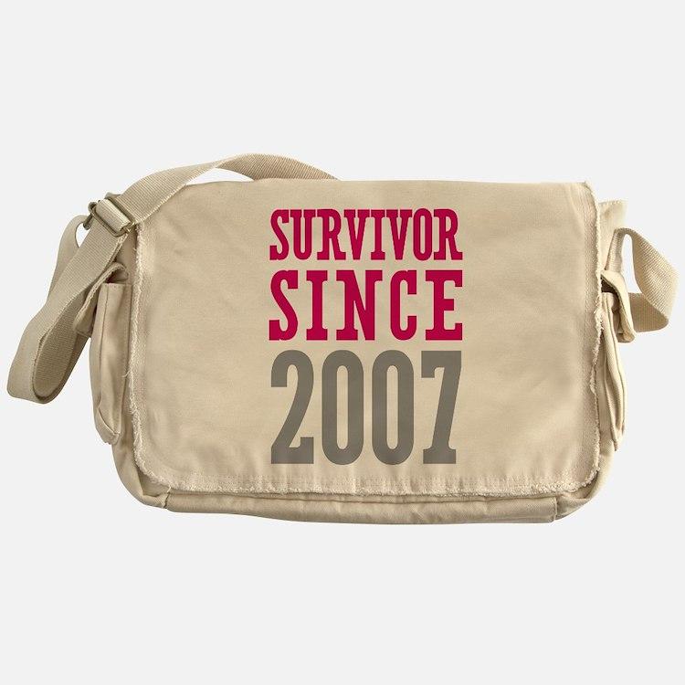 Survivor Since 2007 Messenger Bag