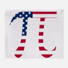 American Pi Throw Blanket