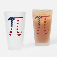 American Pi Drinking Glass