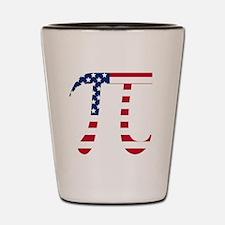 American Pi Shot Glass