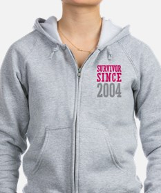 Survivor Since 2004 Zip Hoody