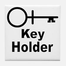 Key-Holder Tile Coaster