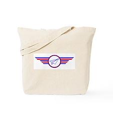 Paper Airplane Wings Tote Bag