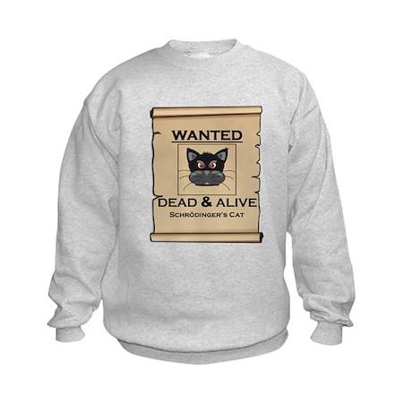 Schrodingers Cat Wanted Poster Sweatshirt