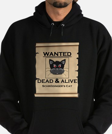 Schrodingers Cat Wanted Poster Hoody