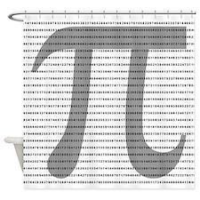 Pi Digits Shower Curtain