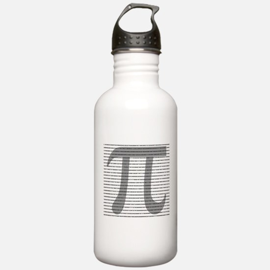 Pi Digits Water Bottle