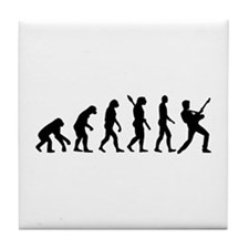 Evolution Rock musician star Tile Coaster