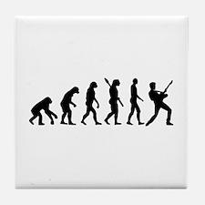 Evolution Rock musician star Tile Coaster
