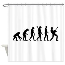 Evolution Rock musician star Shower Curtain