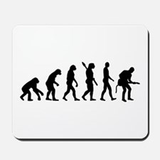 Evolution Rock musician guitarist Mousepad