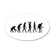 Evolution Rock musician guitarist Wall Sticker