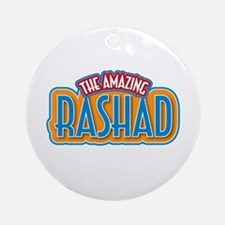 The Amazing Rashad Ornament (Round)
