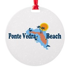 Ponte Vedra - Map Design. Ornament