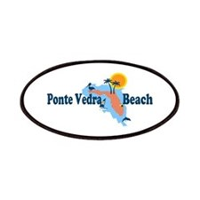 Ponte Vedra - Map Design. Patches