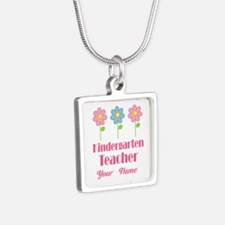 Personalized Kindergarten Teacher Necklaces