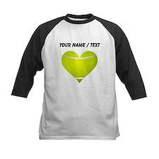 Custom Tennis Heart Baseball Jersey