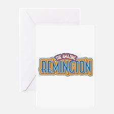 The Amazing Remington Greeting Card