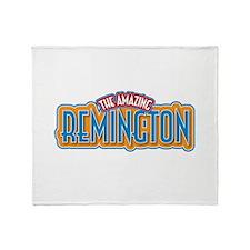 The Amazing Remington Throw Blanket