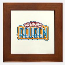 The Amazing Reuben Framed Tile