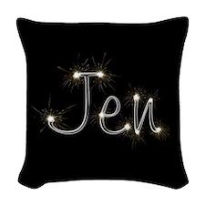 Jen Spark Woven Throw Pillow