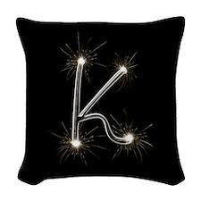 K Spark Woven Throw Pillow