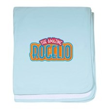 The Amazing Rogelio baby blanket