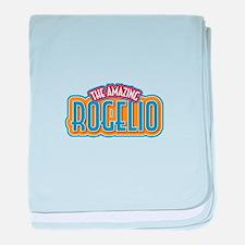 The Amazing Rogelio baby blanket