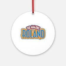 The Amazing Roland Ornament (Round)