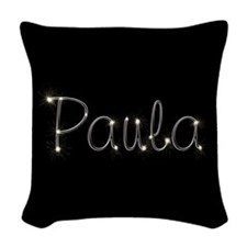 Paula Spark Woven Throw Pillow