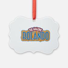 The Amazing Rolando Ornament