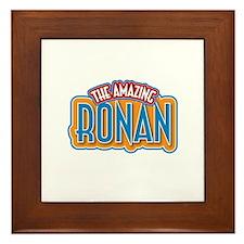 The Amazing Ronan Framed Tile